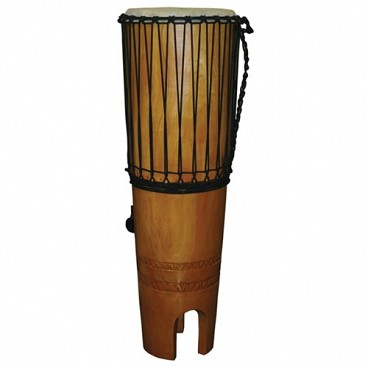 "Ngoma Drum, 15"" x 46"" with Beaters and Strap"