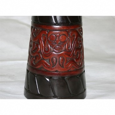 "World Tribal African Djembe, 24"" Tall x 12"" Head"