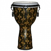 "African Gold Key Tuned Djembe w/ 12"" Synthetic Head"