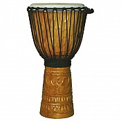 "Deep Carve African Djembe, 23-24"" Tall x 11-12"" Head"