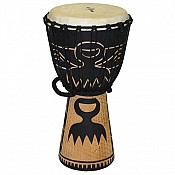 "Duafe African Djembe, 19-20"" Tall x 10-11"" Head"
