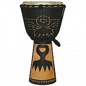"Duafe African Djembe, 23-24"" Tall x 11-12"" Head"