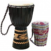 "Kalimantan Djembe 8-9"" Head w/ Tote Bag"