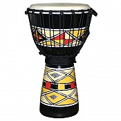 "Native Sunrise Djembe, 19-20"" Tall x 10-11"" Head"