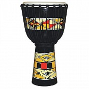 "Native Sunrise Djembe, 23-24"" Tall x 12"" Head"